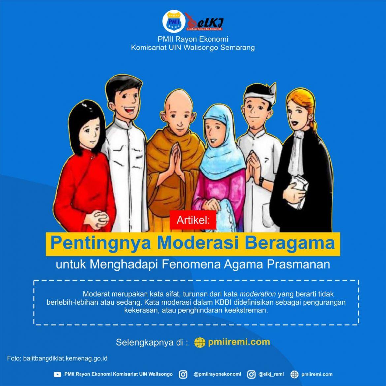 Pentingnya Moderasi Beragama Untuk Menghadapi Fenomena Agama Prasmanan