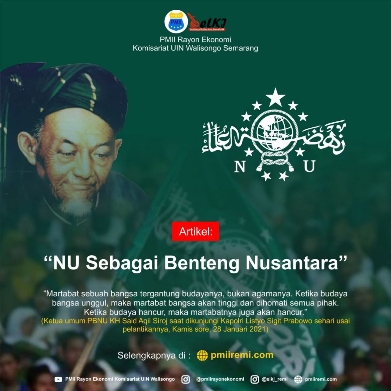 NU Sebagai Benteng Nusantara