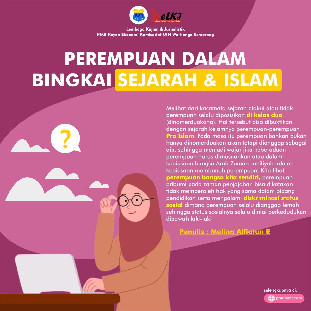 Perempuan dalam Bingkai Sejarah & Islam